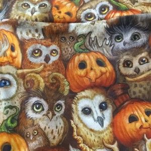 Other - Owls and Pumpkins leggings